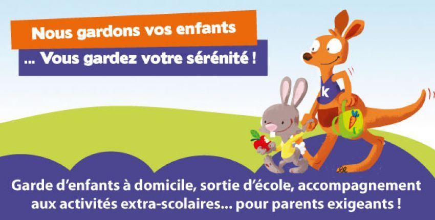 Kangourou Kids, LA solution de garde pour parents exigeants
