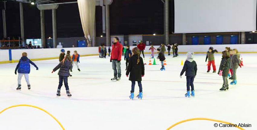 Stage de patinage à la patinoire de Rennes / Le Blizz