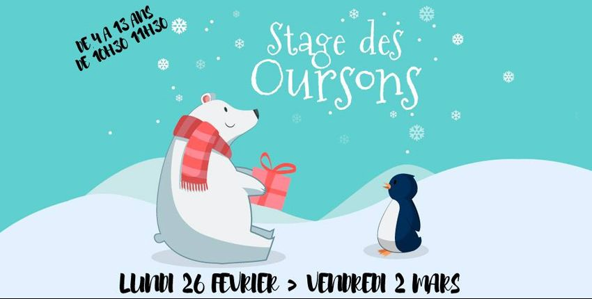 Stage des oursons / escalade / Block'Out / + 4 ans