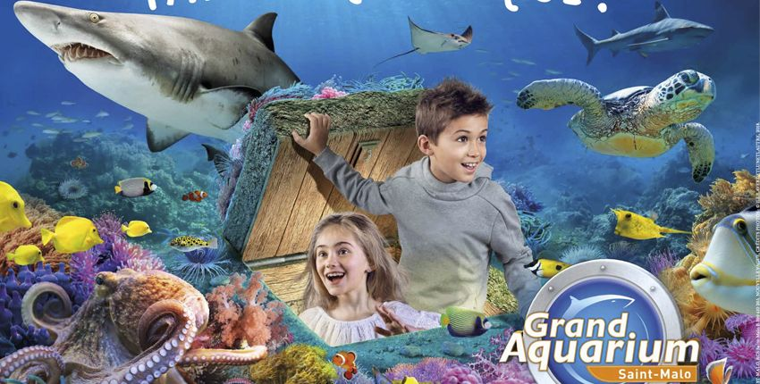 Apprenti aquariologiste / Animation famille / Grand aquarium de Saint-Malo