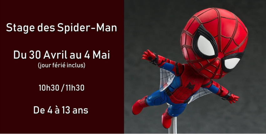 Stage d'escalade SPIDER-MAN / Block'Out / + 4 ans