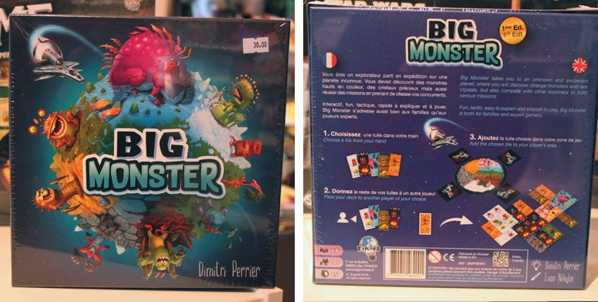 Big Monster > attrapez le plus de monstres